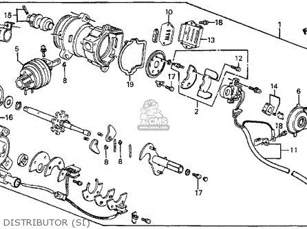 Honda Prelude 1985 2dr Si (ka,kl) parts list partsmanual