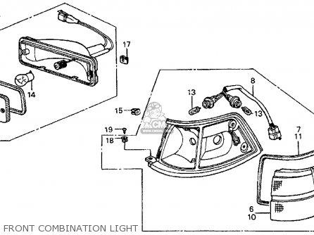 Honda PRELUDE 1985 (F) 2DR SI (KA,KL) parts lists and