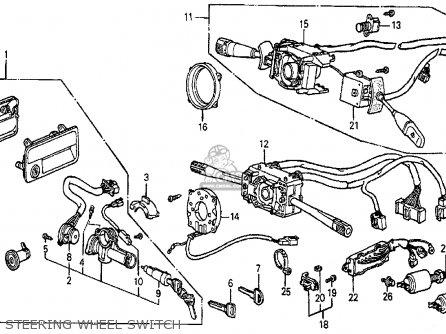 Honda PRELUDE 1987 (H) 2DR SI (KA,KL) parts lists and