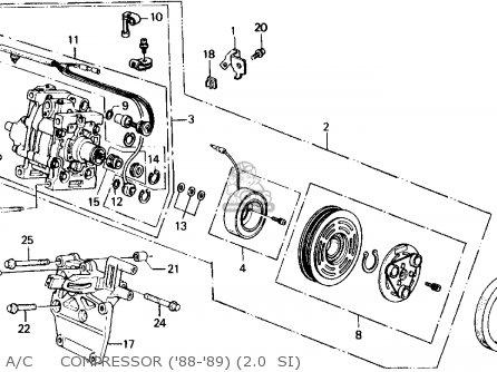 1991 honda crx radio wiring diagram dna worksheet 1988 prelude engine buick century ~ odicis