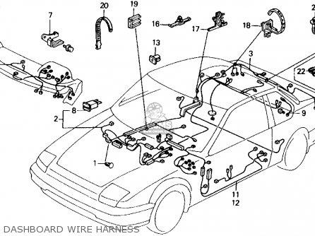 1992 Honda accord speaker wiring