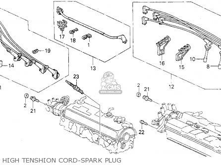 Honda Prelude 1988 2dr 2.0si (ka,kl) parts list