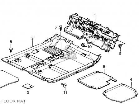 Honda Prelude 1988 (j) 2dr 2.0si 4ws (ka,kl) parts list