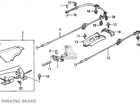 Honda PRELUDE 1988 (J) 2DR 2.0SI 4WS (KA,KL) parts lists