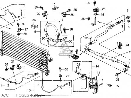 Honda Prelude 1989 2dr 2.0s (ka,kl) parts list partsmanual