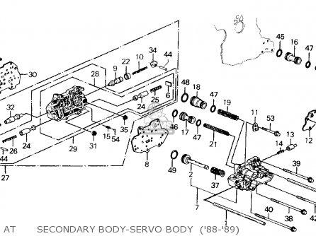 Honda Prelude 1989 2dr 2.0s (ka,kl) parts list partsmanual