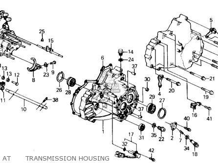 Honda Prelude Dr Si Ws Ka Kl Attransmission Housing Medium Atm on 89 Honda Prelude Wiring Diagrams