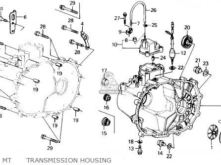 Honda Prelude 1989 2dr 2.0si (ka,kl) parts list