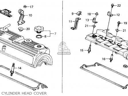 Honda Prelude 1989 (k) 2dr 2.0si 4ws (ka,kl) parts list