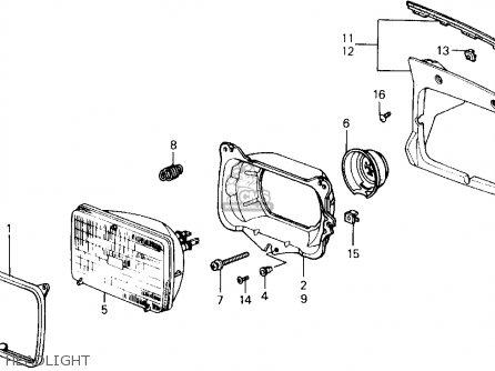Honda PRELUDE 1989 (K) 2DR 2.0SI 4WS (KA,KL) parts lists