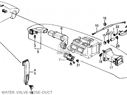 Honda PRELUDE 1989 (K) 2DR 2.0SI (KA,KL) parts lists and