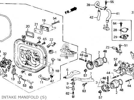 Honda Prelude 1990 2dr 2.0s (ka,kl) parts list partsmanual