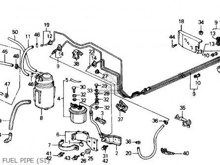 Honda PRELUDE 1990 (L) 2DR 2.05SI (KA,KL) parts lists and