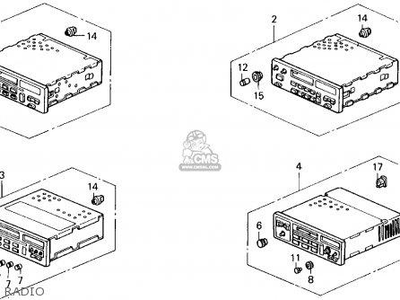Honda PRELUDE 1990 (L) 2DR 2.0S (KA,KL) parts lists and