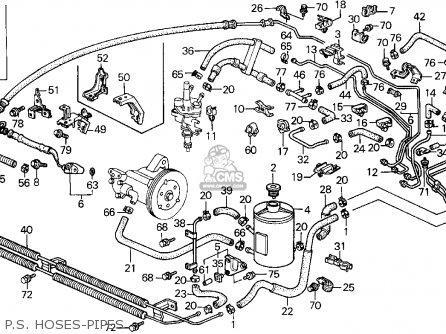 Honda Prelude 1991 2dr 2.05si Abs (ka,kl) parts list