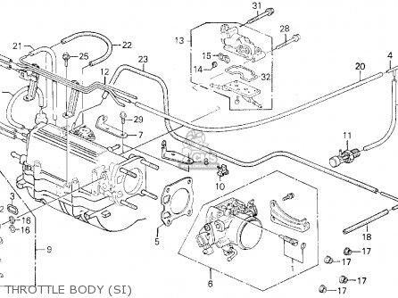 Honda PRELUDE 1991 (M) 2DR 2.05SI ABS (KA,KL) parts lists