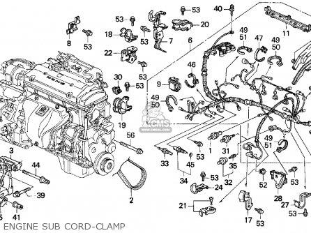 Honda Prelude 1992 2dr S (ka,kl) parts list partsmanual