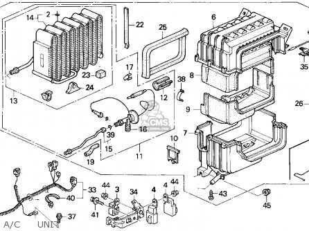 Honda Prelude 1992 (n) 2dr S (ka,kl) parts list