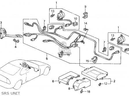 Honda PRELUDE 1992 (N) 2DR SI 4WS (KA,KL) parts lists and