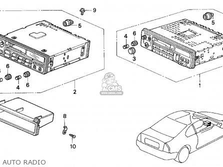 Honda Prelude 1993 (p) 2dr Si 4ws (ka,kl) parts list