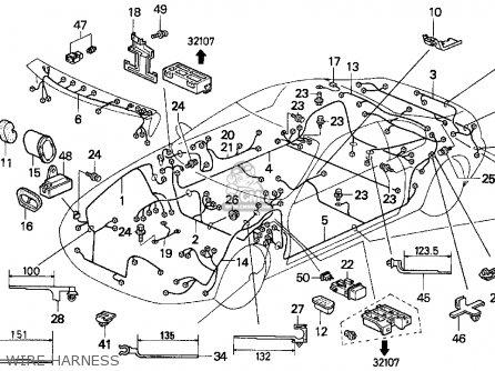 Honda PRELUDE 1994 (R) 2DR SI (KA,KL) parts lists and
