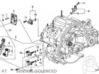 Honda PRELUDE 2001 (1) 2DR BASE (KA) parts lists and