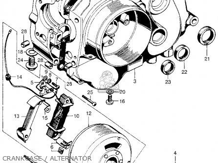 Honda QA50 1970 QA50K0 USA parts lists and schematics