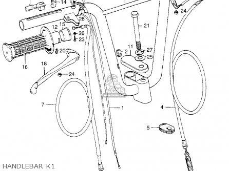 Honda Qa50 1973 K1 Usa parts list partsmanual partsfiche