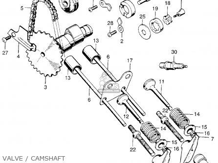 Honda QA50 1973 K1 USA parts lists and schematics