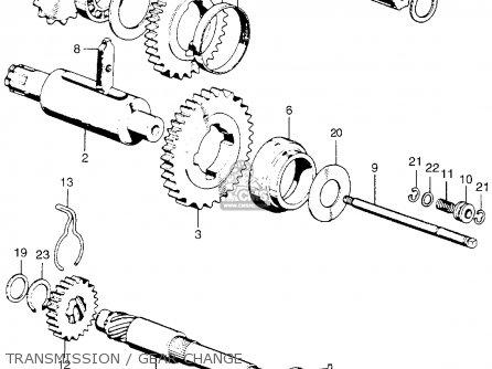 Honda qa50 parts list