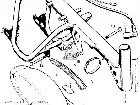 Honda Qa50 Engine Honda SL350 Engine Wiring Diagram ~ Odicis