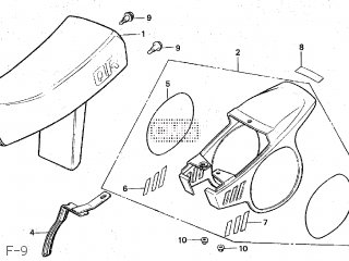 Honda QR50 1982 (C) JAPAN AE01-100 parts lists and schematics