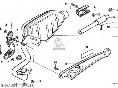 Honda QR50 1983 (D) CANADA parts lists and schematics