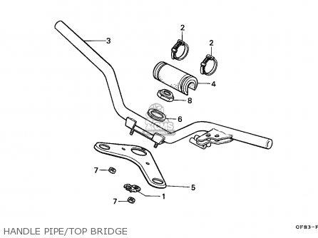 Honda QR50 1984 (E) CANADA parts lists and schematics