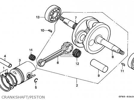 Honda QR50 1985 (F) AUSTRALIA parts lists and schematics