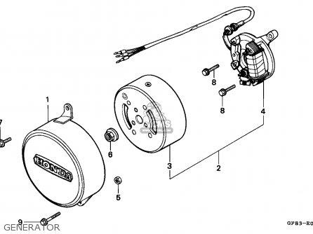 Honda QR50 1985 (F) EUROPEAN DIRECT SALES parts lists and