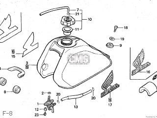 Honda QR50 1985 (F) JAPAN AE01-101 parts lists and schematics