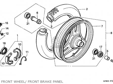 Honda Qr50 1994 (r) Australia parts list partsmanual