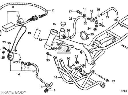 Honda QR50 2000 (X) MEXICO parts lists and schematics