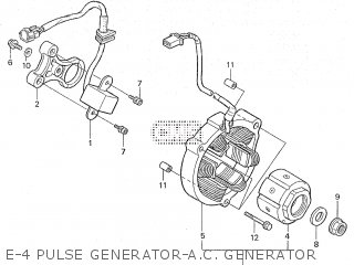 Honda RS125R 1998 HRC parts lists and schematics