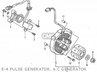 Honda RS125R 2001 parts lists and schematics