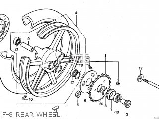Honda RS125R 2002 parts lists and schematics