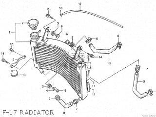 Honda Rs250r 1995 Hrc parts list partsmanual partsfiche