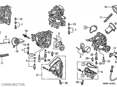 Honda Rvf400rt *rt-ii Nc35 Japanese Domestic parts list