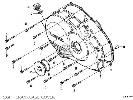 Honda RVF750R RC45 1994 (R) ENGLAND / MKH parts lists and
