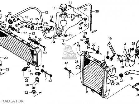 Honda Rvf750r Rc45 1994 (r) Usa parts list partsmanual