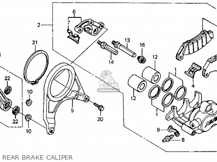 Honda RVF750R RC45 1994 (R) USA parts lists and schematics