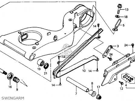 Honda RVF750R RC45 1994 (R) USA parts lists and schematics