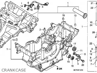 Honda RVT1000R RC51 2006 (6) USA parts lists and schematics