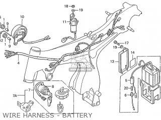 Honda S110 Benly General Export Type 3 parts list